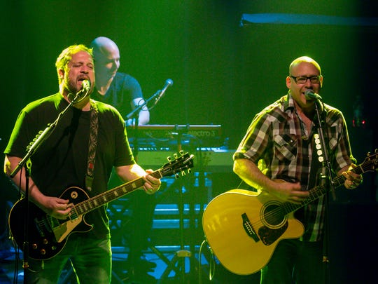 Sister Hazel performs at Vinyl Music Hall last year. The group will once again rock the Vinyl stage on Thursday.