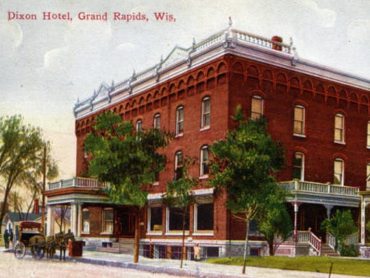 The Dixon Hotel was built in 1893.