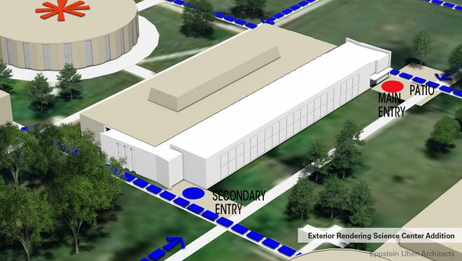 Marian University is planning a $13 million expansion of its science building in Fond du Lac.