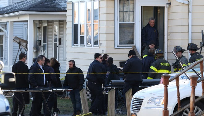 Four people were found dead inside 193-195 Leighton Ave. when firefighters battled a fire at the two-family just before midnight on Jan. 10, 2016.