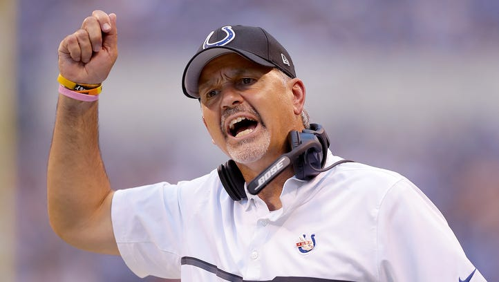 Doyel: Chuck Pagano is a liability on game day
