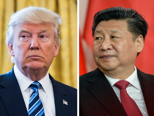 President Trump and China President Xi Jinping
