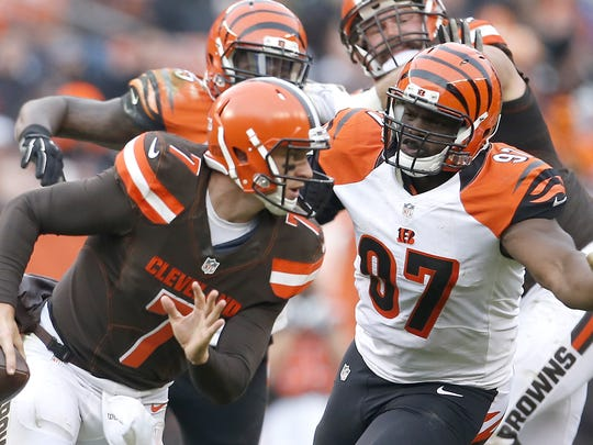 Cincinnati Bengals defensive tackle Geno Atkins has