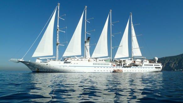 Wind Star cruise ship
