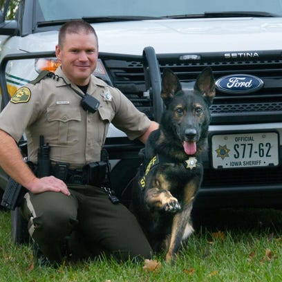 The Polk County Sheriff's Office used civil forfeiture assets for four weeks of training for K-9 Egon and his handler, Deputy John Pohlman. Iowa forfeiture money must be spent in ways that enhance law enforcement and crime-fighting capabilities, according to state requirements.