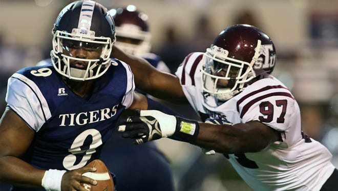 LaMontiez Ivy will try to help the JSU offense clean up its mistakes against Grambling.