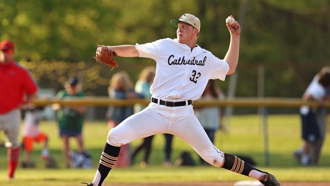 Cathedral's Nick Eaton was named the 2016 City Player of the Year.