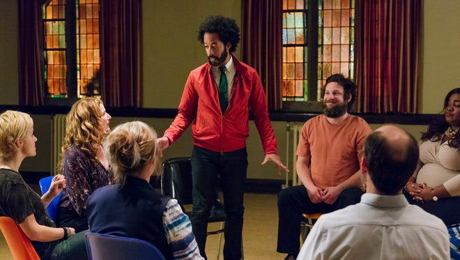 """TBS has greenlit """"People of Earth,"""" a new original comedy about a support group for alien abductees. The picture is from the pilot."""