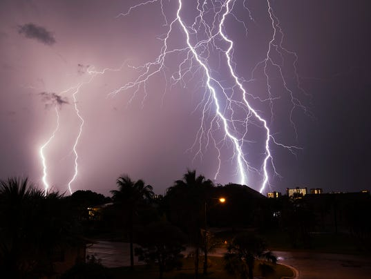 how to stay safe from lightning outside