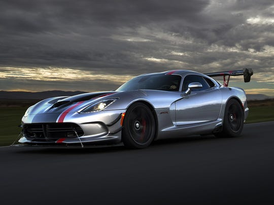 2017 Dodge Viper ACR with Extreme Aero package.