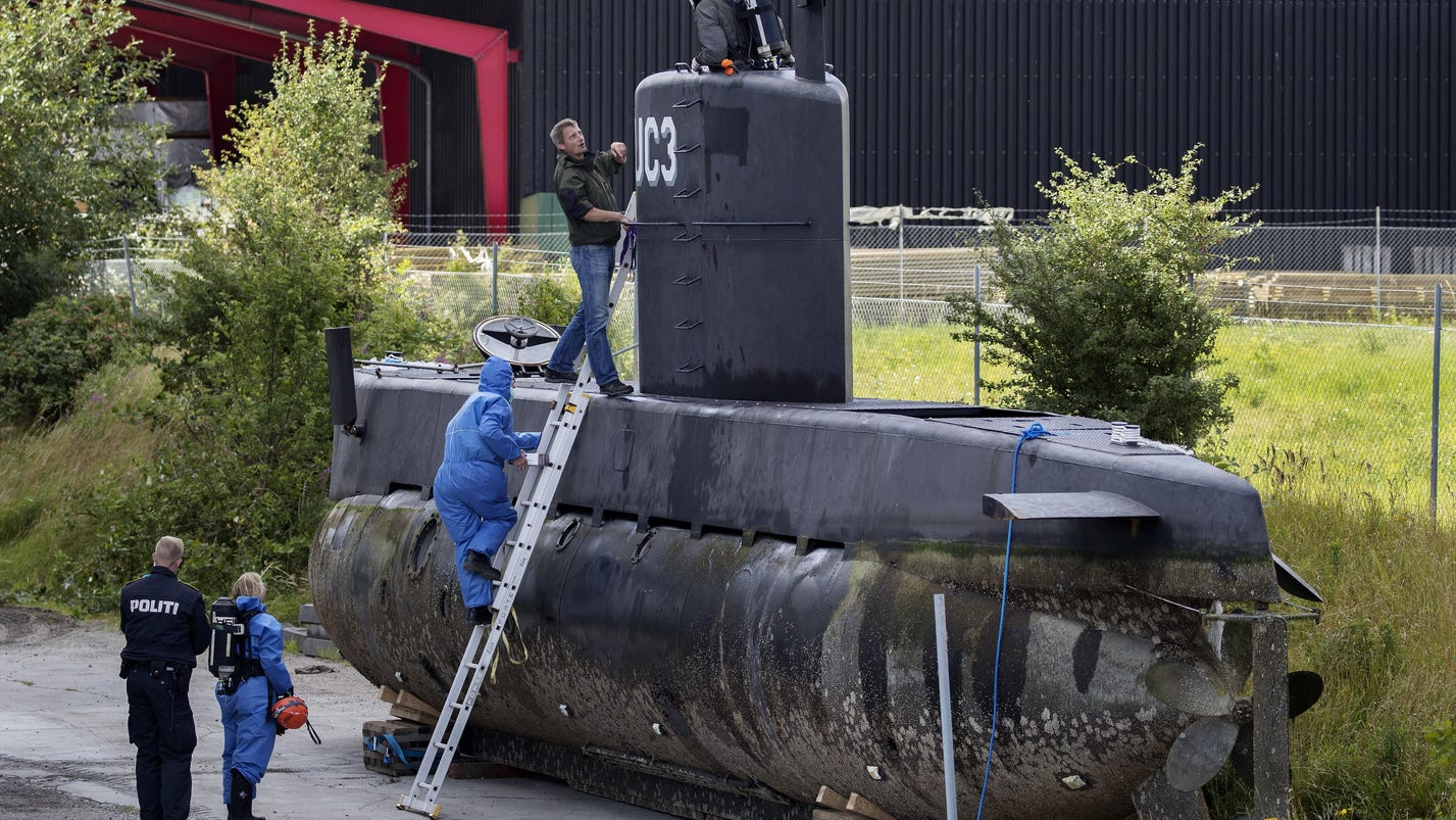 Inventor charged with murdering reporter on submarine