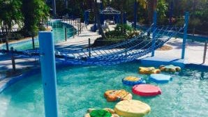 The name of the new attraction at Sailfish Splash Waterpark is Wiggly Waters.