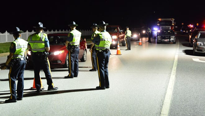 A sobriety checkpoint near Dover on July 15 was part of the new Checkpoint Strikeforce effort, sponsored by the Office of Highway Safety.