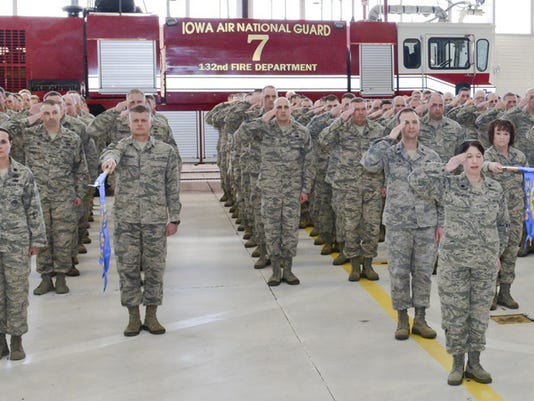 132d formally recognizes the official Activation of the 132WG ISRG.