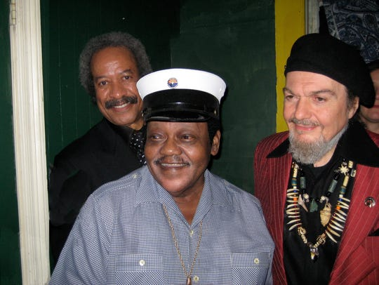 Fats Domino, subject of the documentary 'The Big Beat: