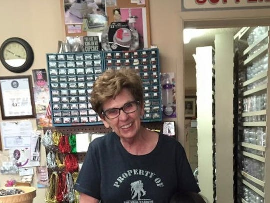 Jan McWhirter, 82, says that Small Business Saturday