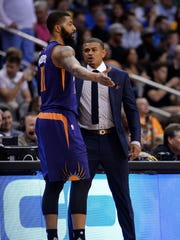 Markieff Morris had his issues in Phoenix.
