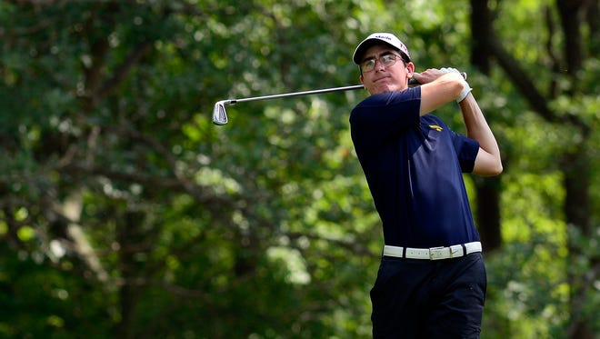 Zach Dixon continued his individual dominance for Eastern York on Thursday by shooting a 74, the low score of the day. Dover won the match as a team, its sixth in a row. John A. Pavoncello photo