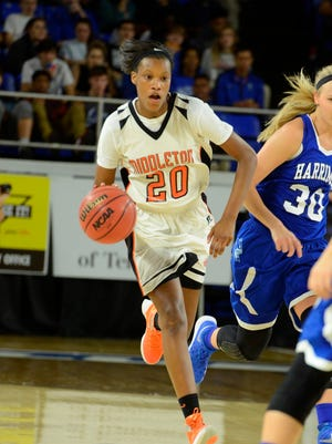 Middleton's Chelsey Perry has committed to play basketball at UT Martin.