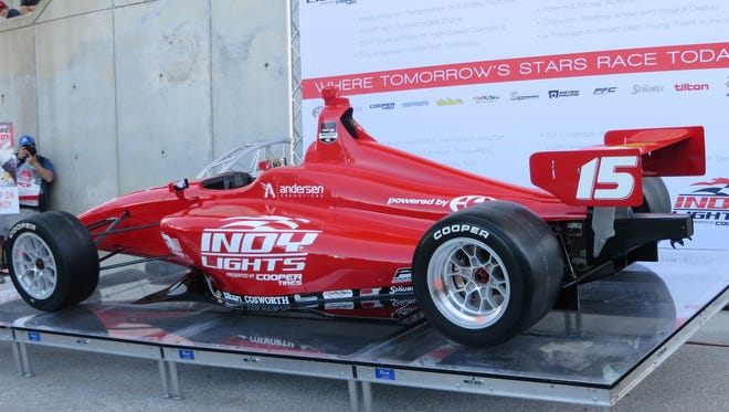 Indy Lights' prototype will be tested this weekend at Indianapolis Motor Speedway by Josef Newgarden.