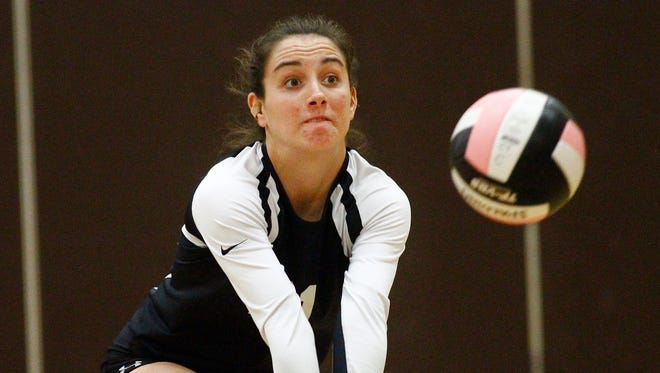 Local teams take part in the Vikings Brown and Gold volleyball tournament at Clarkstown South High School in West Nyack on Saturday, Sept. 20, 2014.