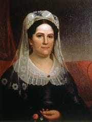 A portrait of Rachel Jackson