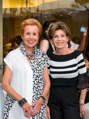 Event co-chairs (L) Barbara Fromm and Terri Ketover