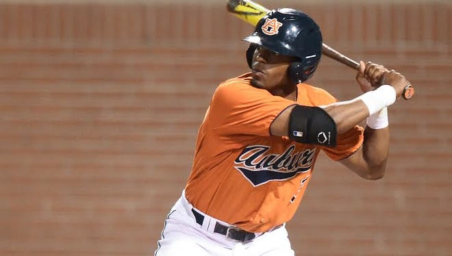 Auburn outfielder Josh Palacios returns with a pinch hit appearance Wednesday in a 7-3 loss to Kennesaw State.