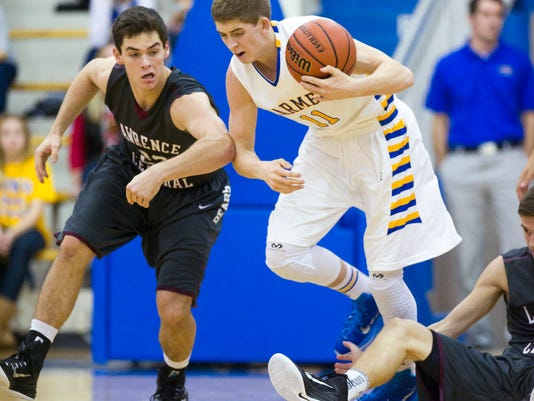 Boys Varsity Basketball: Carmel vs. Lawrence Central