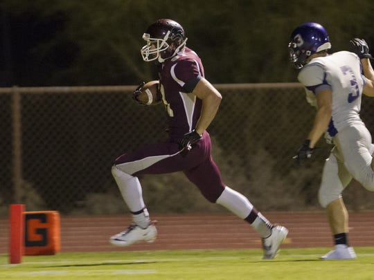 Mark Andrews had a standout high school career at Scottsdale Desert Mountain High.