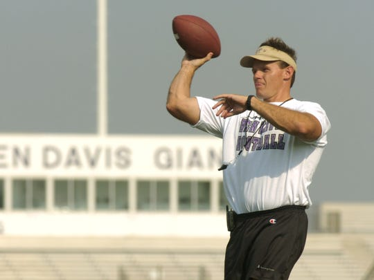 FILE — Tom Allen coached at Ben Davis and Marion before
