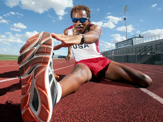David Jackson of El Paso is the No. 1 ranked American Steeple chaser and No. 9 in the world in his age group. Having recently fought cancer, he will compete in the Master's Championships in France this August.