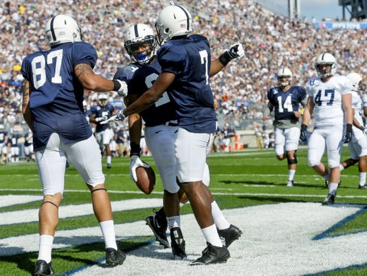 Penn State football will return to donning nameless jerseys similar to those worn in this year's Blue-White game on April 18, 2015.