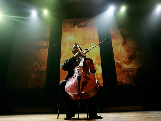 Cellist Yo-Yo Ma will be at The Freeman Stage at Bayside