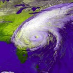Forecasters relied heavily a GOES satellite in September to track the path of Hurricane Floyd.