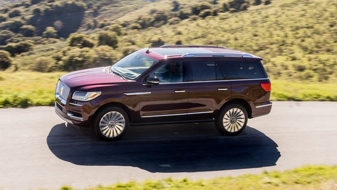 The 2018 Lincoln Navigator is one of three finalists for North American Truck of the Year.