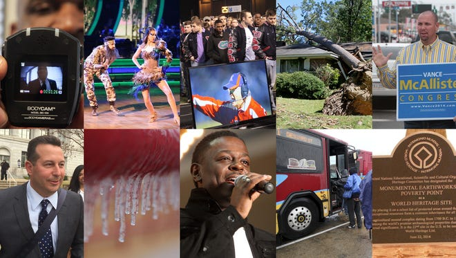 What were Northeast Louisiana's biggest stories of 2014?