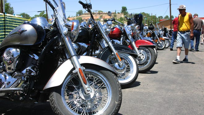 Check out some custom bikes with 104.7 The Cave at the Ozark Empire Fairgrounds Saturday afternoon.
