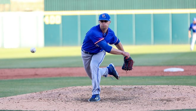 Louisiana Tech closer Adam Atkins rebounded from a blown save Friday against FAU to pick up his sixth win of the year.
