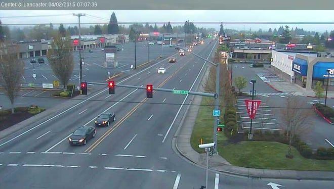 Lancaster Drive NE and Center Street NE.