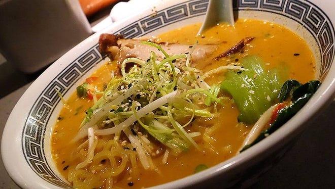 Goma Ramen at Posh Restaurant in Scottsdale.
