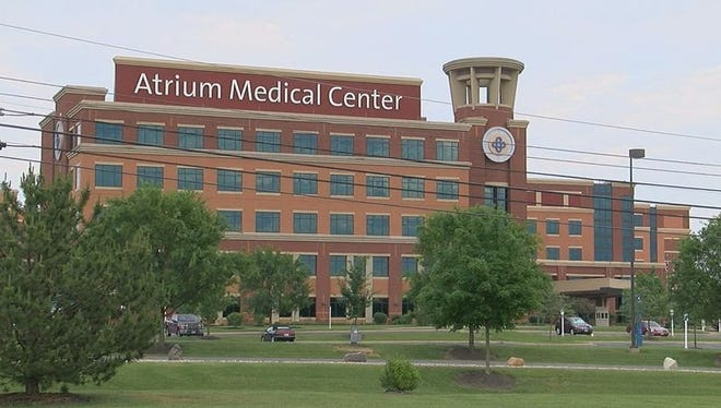 A patient says she was groped at the Atrium Medical Center in Middletown during her stay last week.