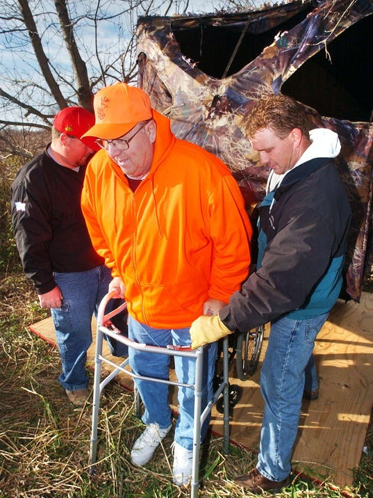 Near-death experience can't stop deer hunter