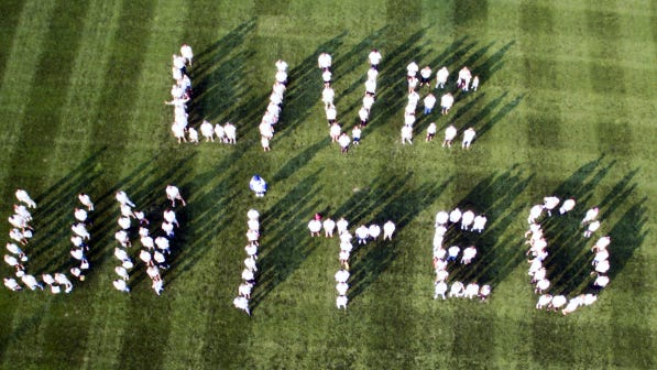 The United Way campaign kicked off recently.