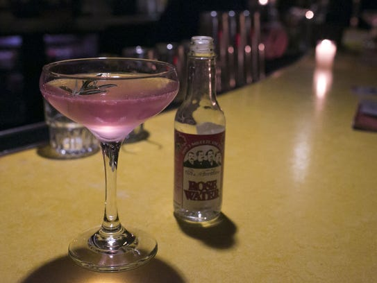"""The """"Rose Mofford"""" is a signature drink at Valley Bar,"""