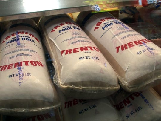 Rolls of Taylor Pork Roll are shown at Slater's Deli in the Leonardo section of Middletown in Monmouth County.