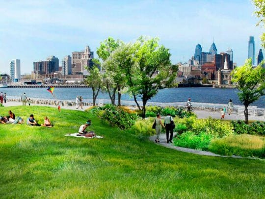 A proposed development in Camden's Waterfront will