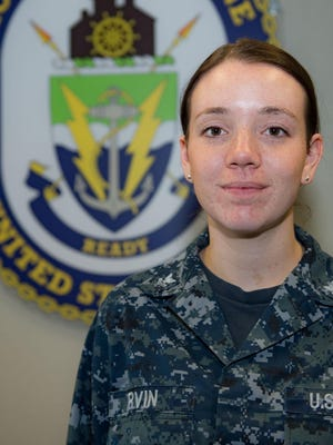 Des Moines native Stephanie Irvin is serving in the U.S. Navy as part of a team supporting one of the country's most versatile combat ships.