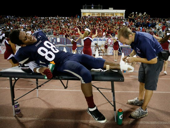 More athletic trainers wanted at high schools