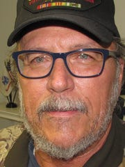 Larry Sherman, of Elmira chapter of Vietnam Veterans of America.